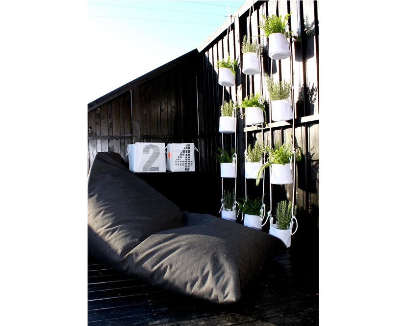 TRIMM Copenhagen - Felix Lounger Sitzsack - grey - 5
