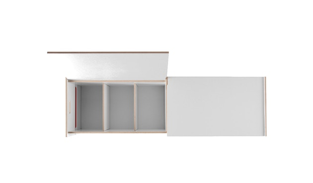 Moormann - Coffre Trude - S - blanc (MDF) - 6