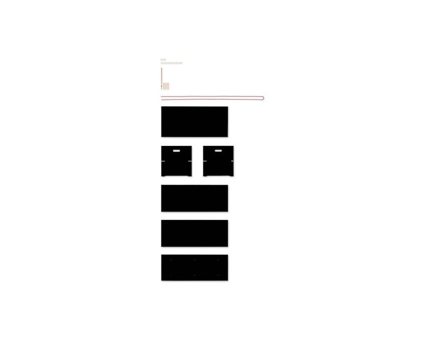 Moormann - Trude Truhe - klein - schwarz - 5