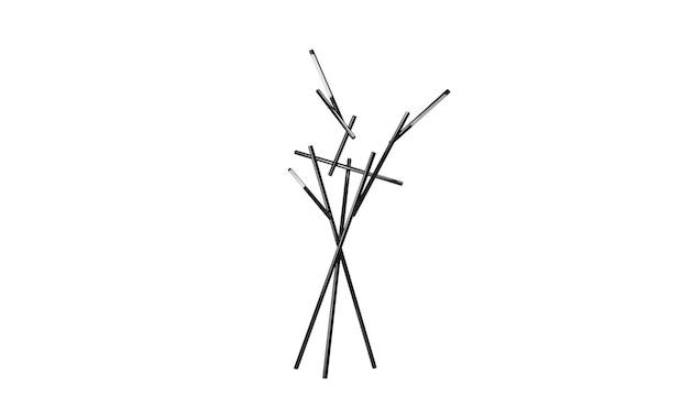 Foscarini - Tuareg Stehleuchte - schwarz - 2