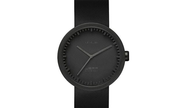 LEFF amsterdam - Tube Watch D42 Armbanduhr - schwarz/schwarzes Armband - 2