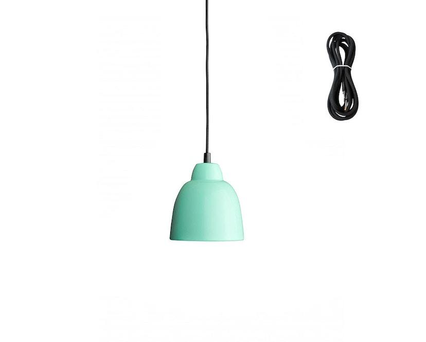 Made By Hand - Tulip Hängeleuchte - mint - Kabelfarbe black - Baldachin schwarz - 1