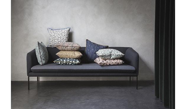 ferm LIVING - Turn 3-Sitzer Sofa - Baumwolle - hellgrau/dunkelgrau - 8