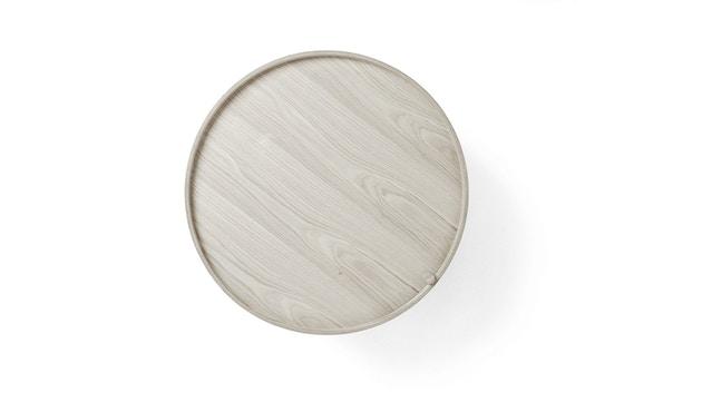 Menu - Turning Table bijzettafel - witte eik - 6