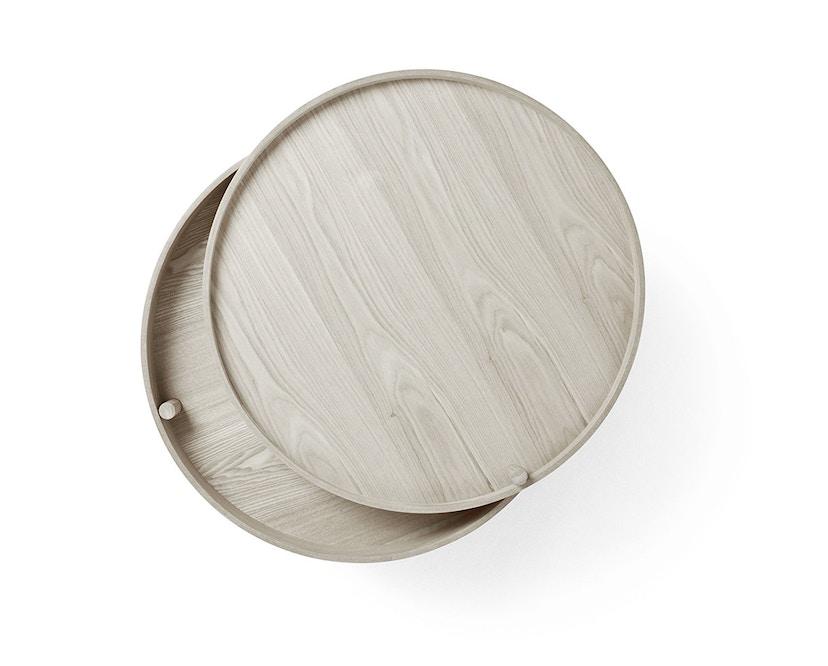 Menu - Turning Table bijzettafel - witte eik - 7