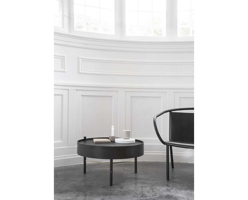 Menu - Turning Table bijzettafel - witte eik - 8