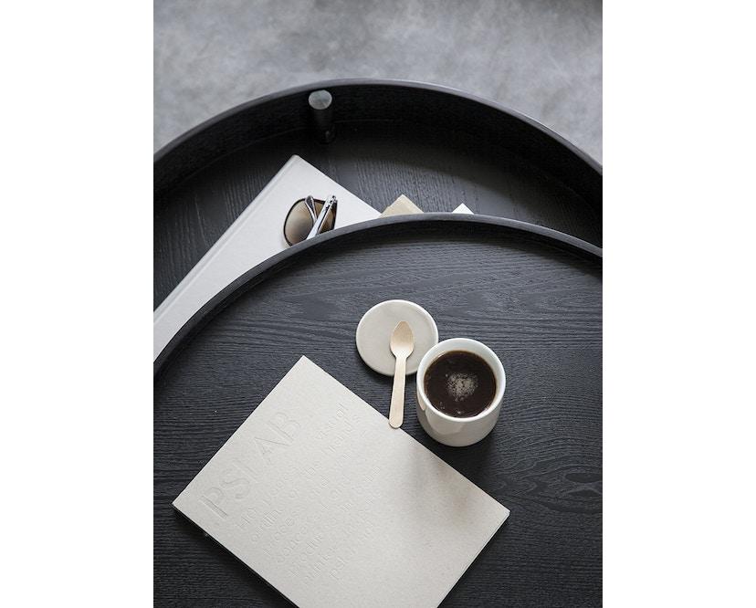Menu - Turning Table bijzettafel - witte eik - 9