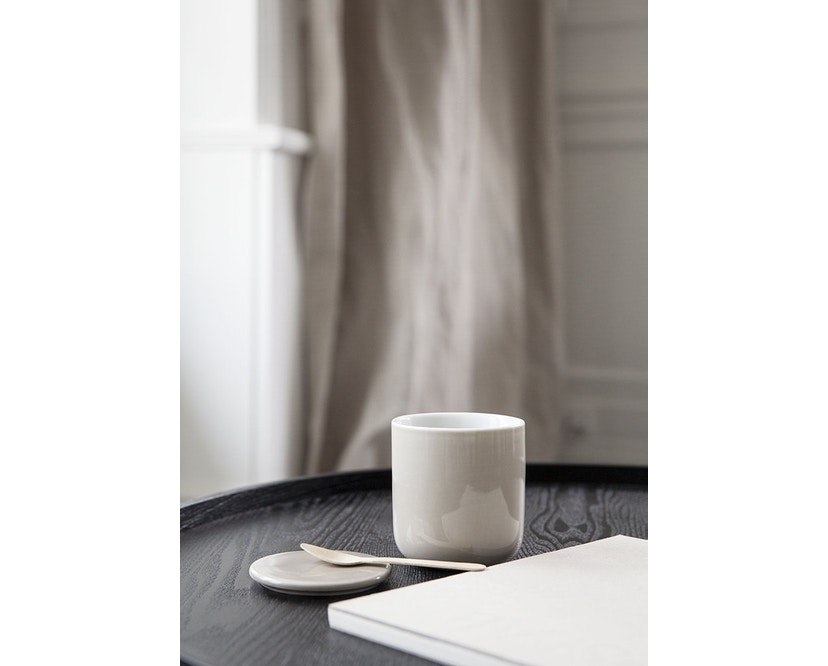 Menu - Turning Table bijzettafel - witte eik - 11
