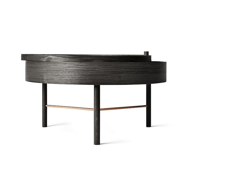 Menu - Turning Table Beistelltisch - Esche schwarz - 3