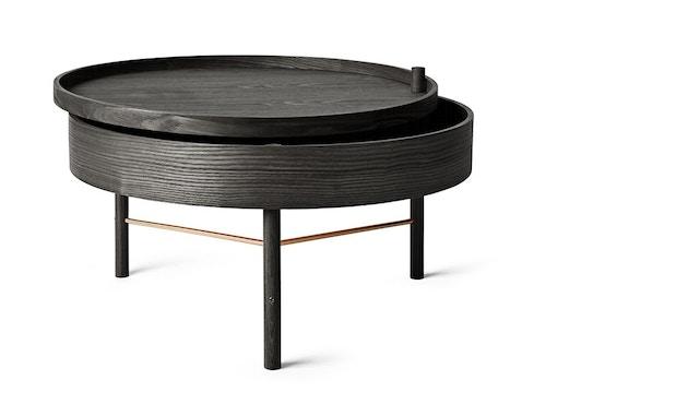 Menu - Turning Table Beistelltisch - Esche schwarz - 4
