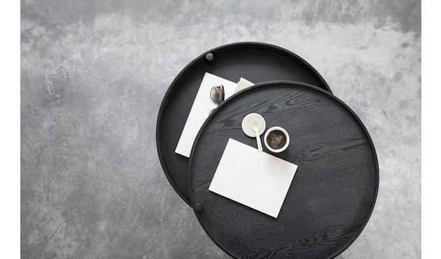 Menu - Turning Table Beistelltisch - Esche schwarz - 7