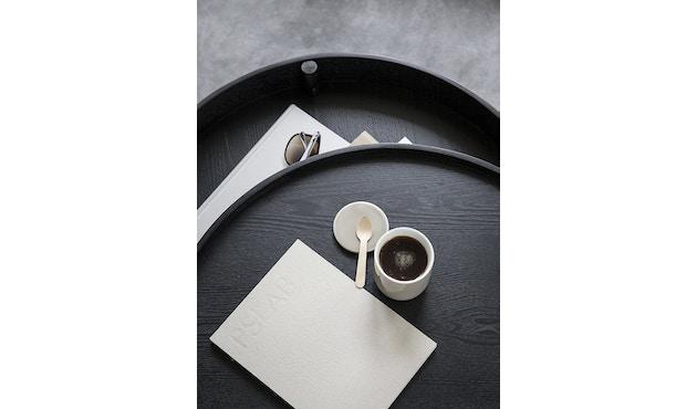 Menu - Turning Table Beistelltisch - Esche schwarz - 8