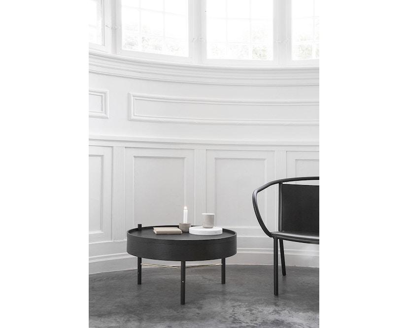 Menu - Turning Table Beistelltisch - Esche schwarz - 10