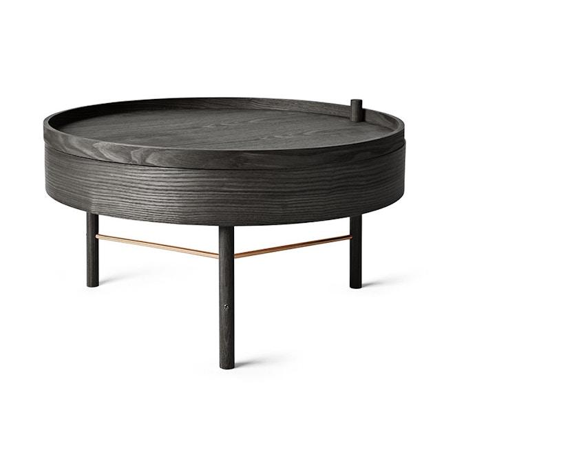 Menu - Turning Table Beistelltisch - Esche schwarz - 1