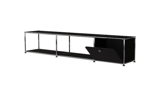 USM Haller - TV Lowboard - 30 grafietzwart - 2
