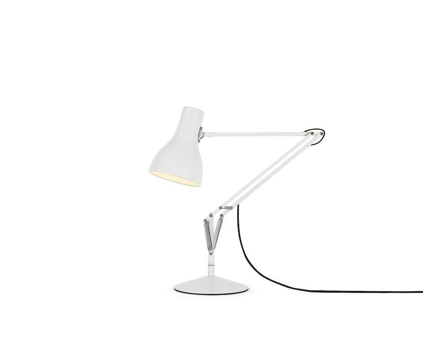 Anglepoise - Type 75™ Schreibtischleuchte - LED - alpinweiß - mit Fuß - 1