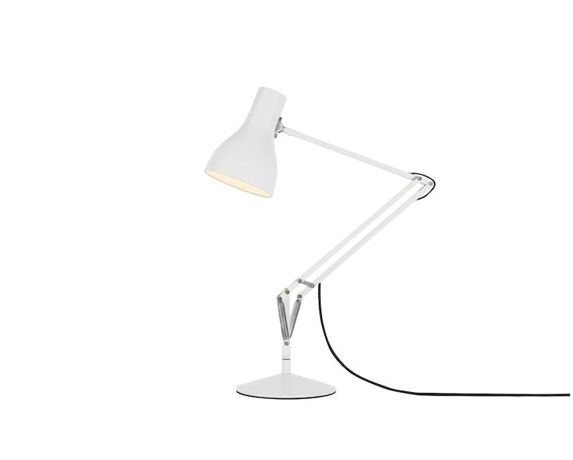 Anglepoise - Type 75™ Schreibtischleuchte - LED - alpinweiß - mit Fuß - 2