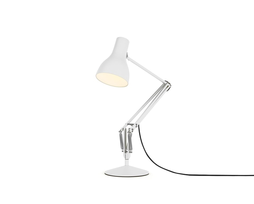 Anglepoise - Type 75™ Schreibtischleuchte - LED - alpinweiß - mit Fuß - 3
