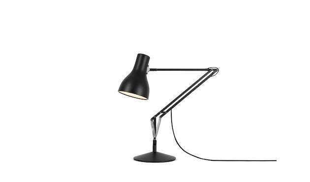 Anglepoise - Type 75™ Schreibtischleuchte - LED - jet schwarz - mit Fuß - 1