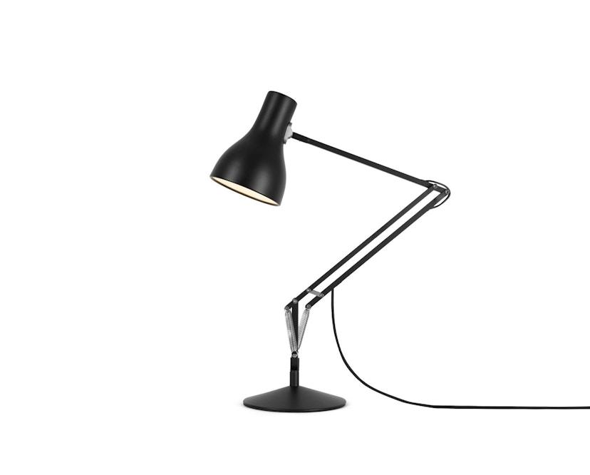 Anglepoise - Type 75™ Schreibtischleuchte - LED - jet schwarz - mit Fuß - 2