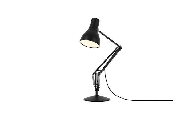 Anglepoise - Type 75™ Schreibtischleuchte - LED - jet schwarz - mit Fuß - 3