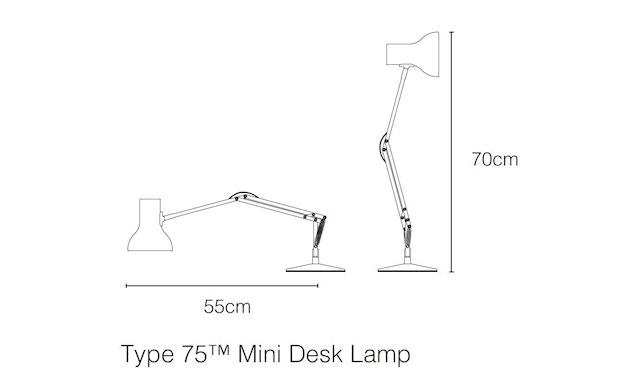 Anglepoise - Type 75™ Mini Schreibtischleuchte - 3