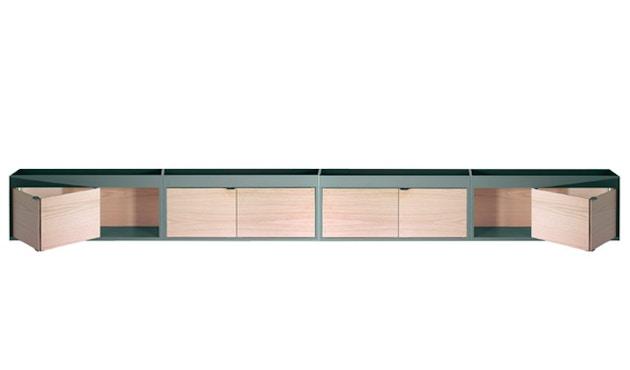 HAY - New Order Sideboard niedrig  - army - Tür Eiche natur - 2