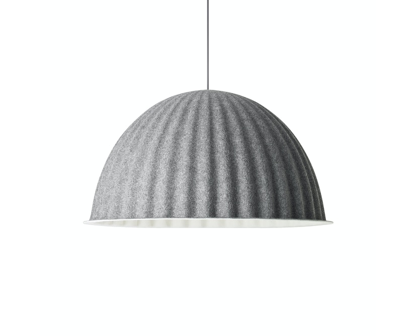 Muuto - Under the bell Hängeleuchte - grey - 1