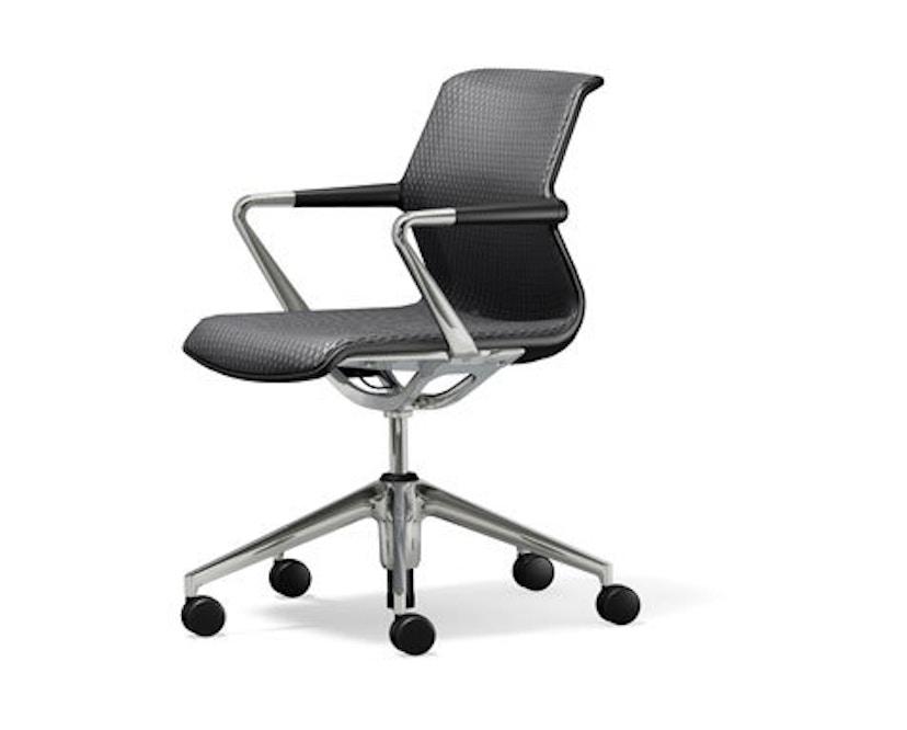 Vitra - Unix Chair Fünfstern-Untergestell - Diamond Mash dimgrey - 1
