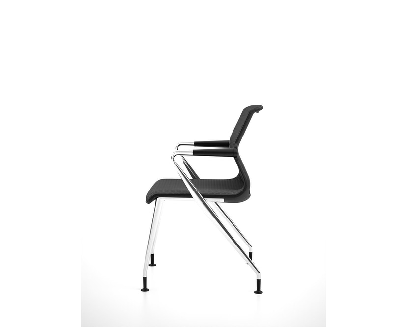 Vitra - Unix  Chair met vier poten - 5