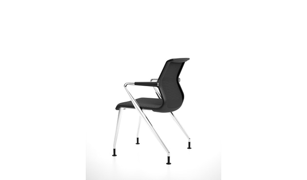 Vitra - Unix  Chair met vier poten - 11