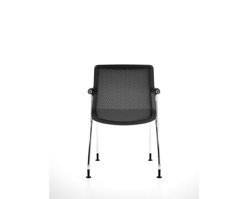 Vitra - Unix  Chair met vier poten - 12