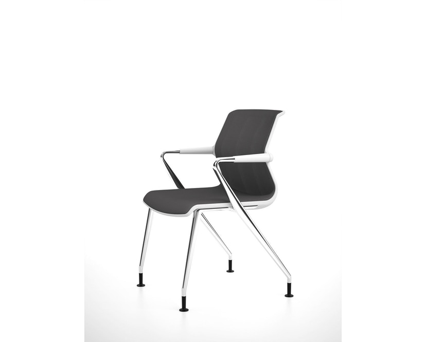 Vitra - Unix  Chair met vier poten - 13