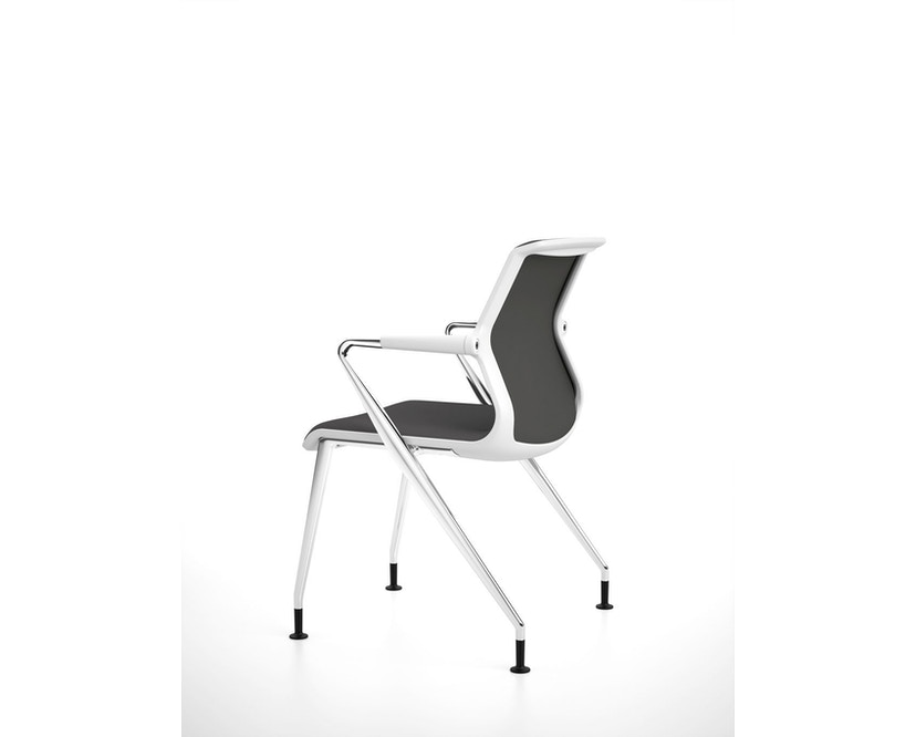 Vitra - Unix  Chair met vier poten - 14