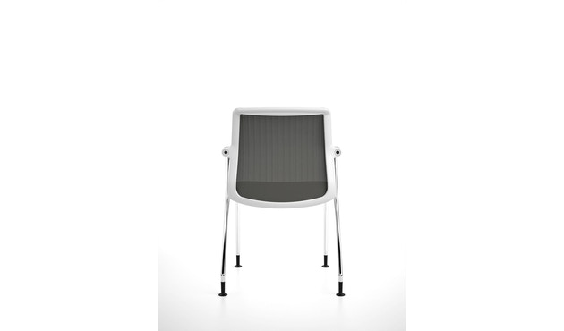 Vitra - Unix  Chair met vier poten - 15
