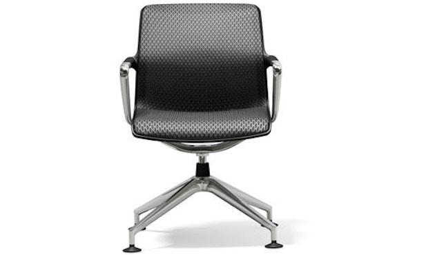 Vitra - Unix Chair Vierstern-Untergestell - Diamond Mash dimgrey - 1