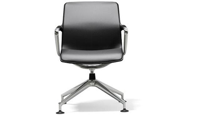 Vitra - Unix Chair Vierstern-Untergestell - Silk Mash dimgrey - 1