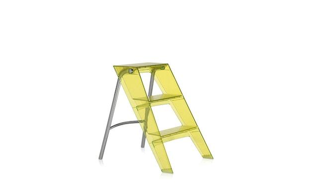 Kartell - Upper trapladder - citroengeel - 1