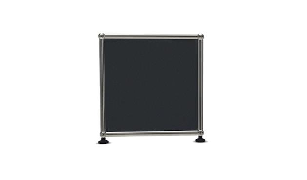 USM Haller - Board 1 x 1 élément - ouvert - 33 gris anthracite - 3