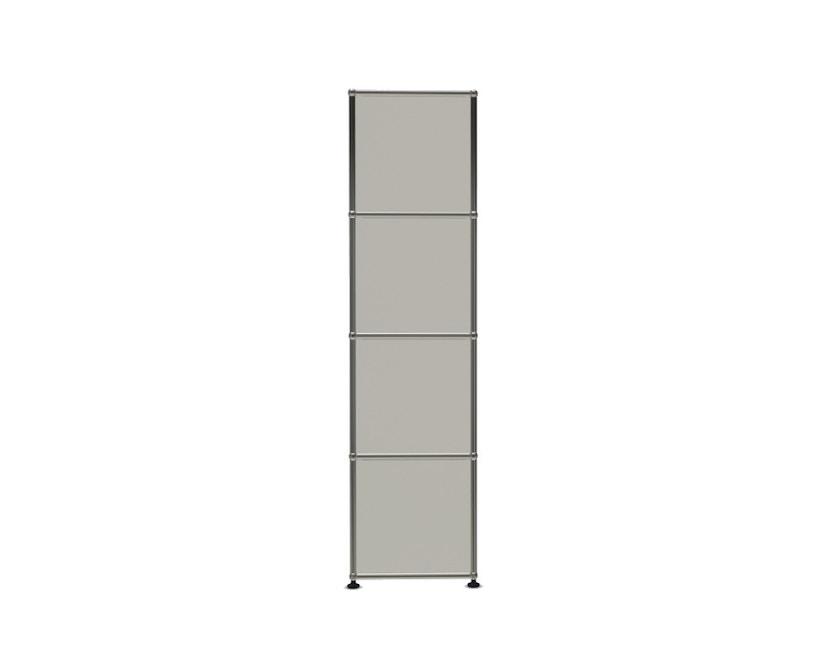 USM Haller - USM Haller 1 Element breit 4 Elemente hoch - reinweiß - 3