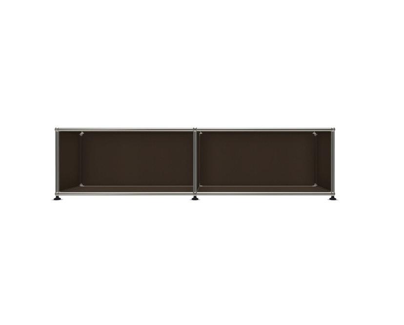 USM Haller - Board 2 x 1 élément - ouvert - 22 maron - 1