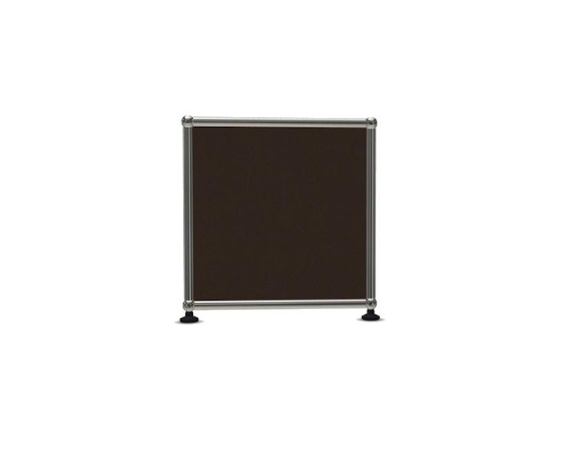 USM Haller - Board 2 x 1 élément - ouvert - 22 maron - 3