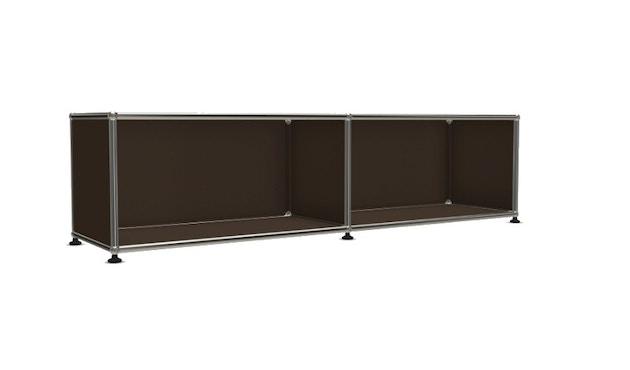 USM Haller - Board 2 x 1 élément - ouvert - 22 maron - 4