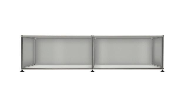 USM Haller - Board 2 x 1 element - Open - 29 lichtgrijs - 1