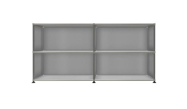 USM Haller - Board 2 x 2 elementen - Open - Open - 35 matzilver - 1
