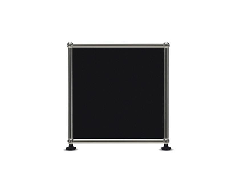 USM Haller - Board 3 x 1 element - Open - 30 grafietzwart - 3