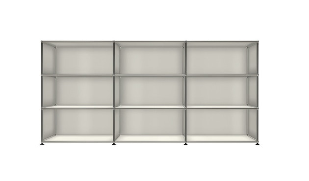 USM Haller - Board 3 x 3 elementen - Open - Open - Open - 24 zuiverwit - 1