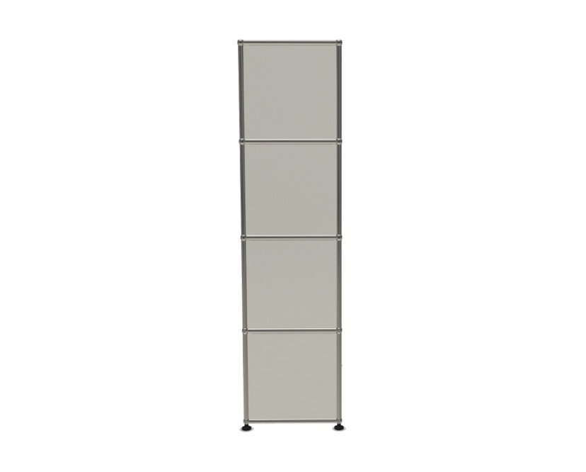 USM Haller - Board 3 x 4 éléments - ouvert - ouvert - 24 blanc pur - ouvert - ouvert - 3