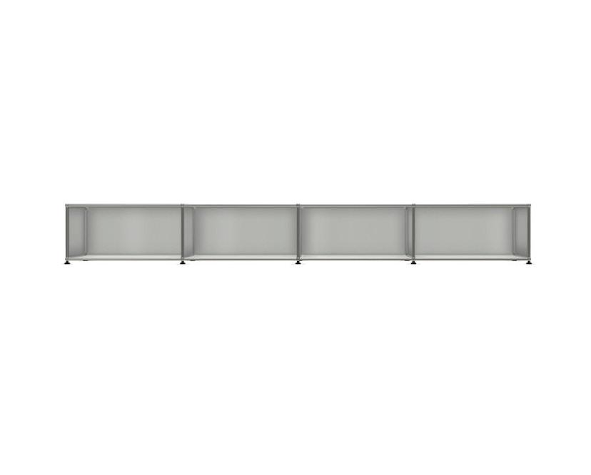 USM Haller - Board 4 x 1 element - Open - 29 lichtgrijs - 1