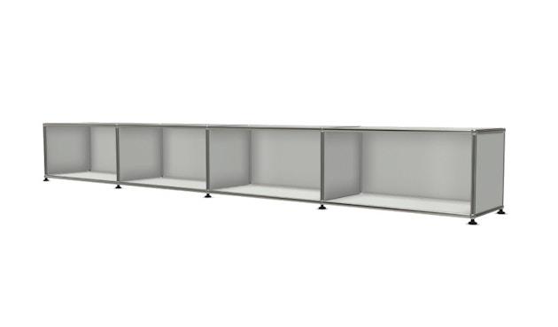 USM Haller - Board 4 x 1 element - Open - 29 lichtgrijs - 2